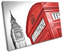 London Telephone Box Landmarks - 13-1267(00B)-SG32-LO